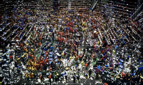 Chicago Board of Trade II (1999) by Andreas Gursky