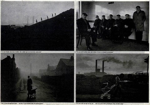 from Steel Works, photographs by Don McCullin