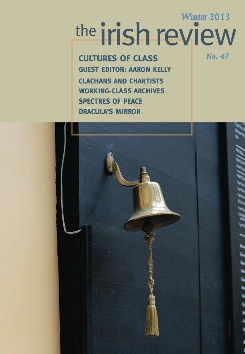The Irish Review, Winter 2013, No. 47 (cover)(courtesy The Irish Review)