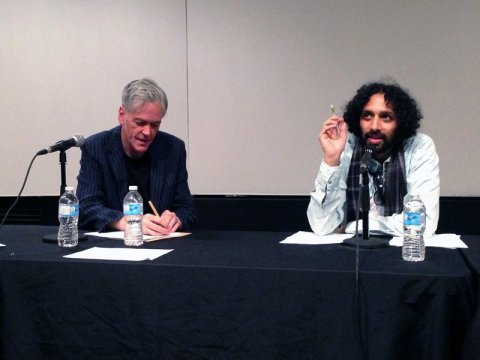 Q&A with fellow panellist Sumanth Gopinath (photograph courtesy of Mauricio Delfin)