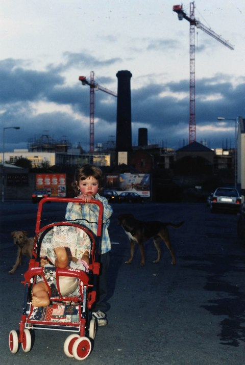 Portrait (A Child) (c-print) from the series Stoneybatter (Dublin), August 1998